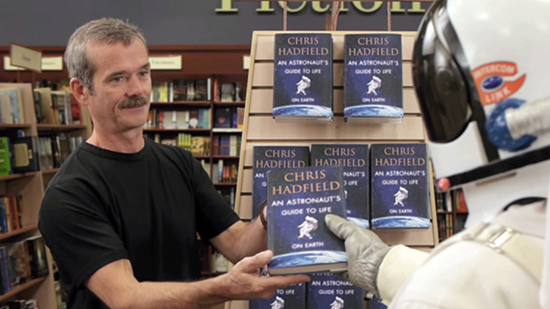 YouTube / Chris Hadfield
