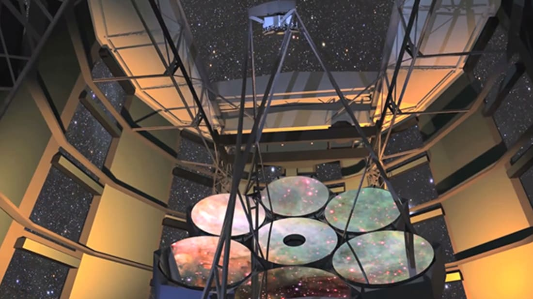 YouTube / GMT Giant Magellan Telescope