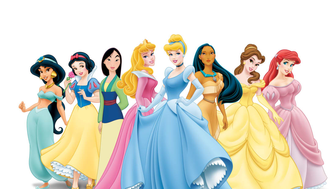 0c5b65d4d2e The Faces Behind Disney s 11 Princesses