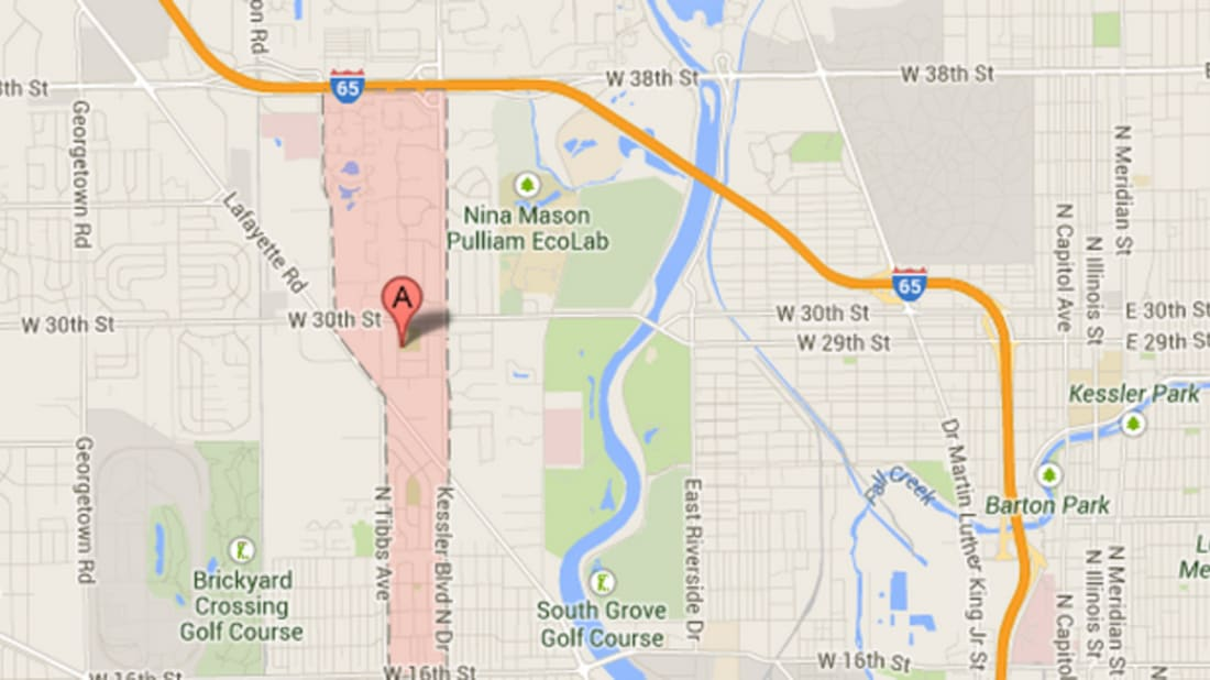 How the Indianapolis Neighborhood Venerable Flackville Got Its Name Indianapolis Neighborhood Map on