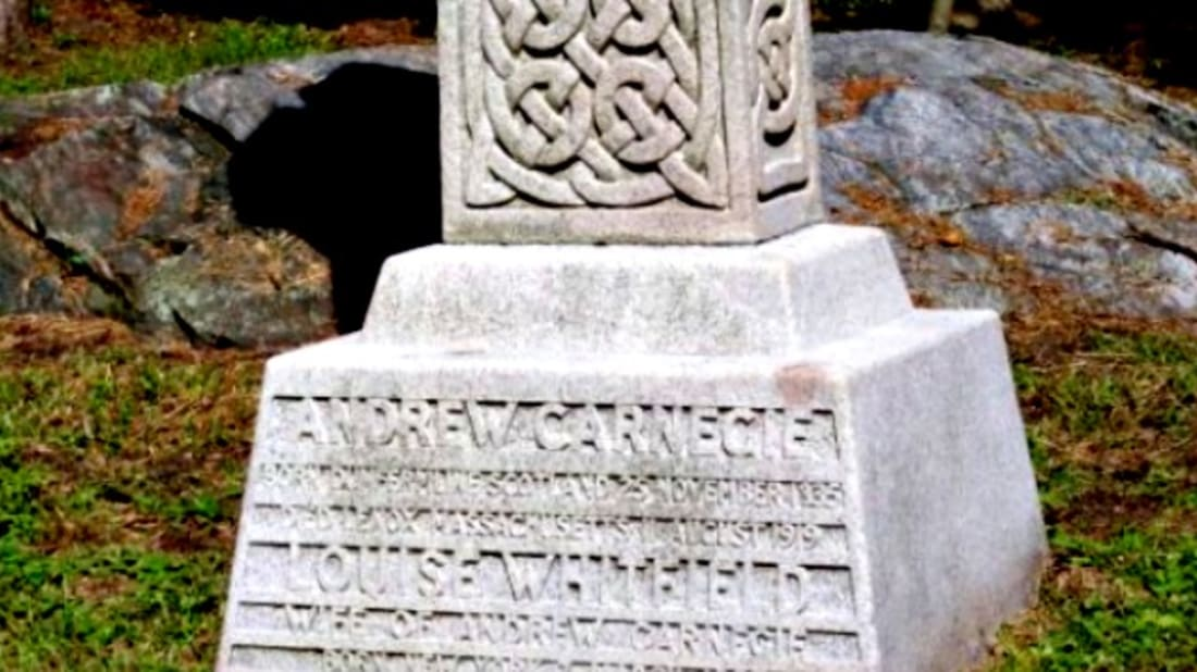 Grave Sightings: Andrew Carnegie | Mental Floss