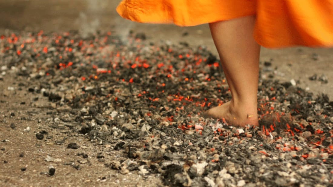 How to Walk Across Hot Coals | Mental Floss