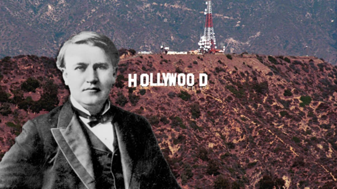 Thomas Edison Drove the Film Industry to California | Mental