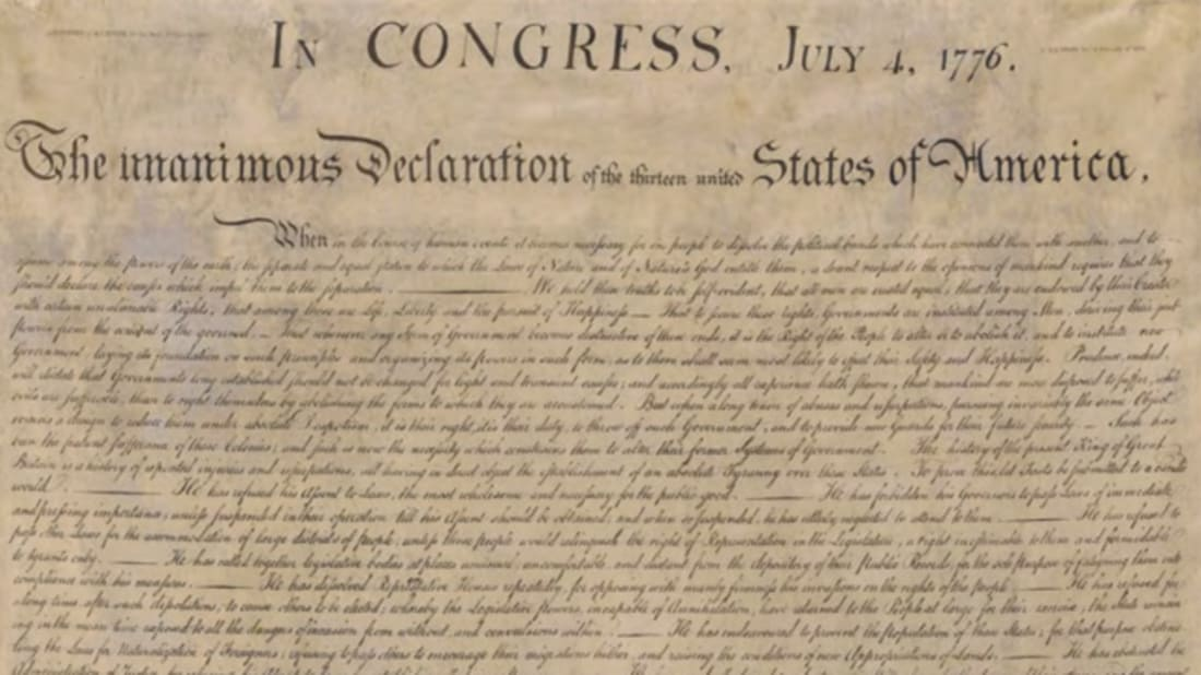 Get Your Free Declaration of Independence Guest Book! | Mental Floss