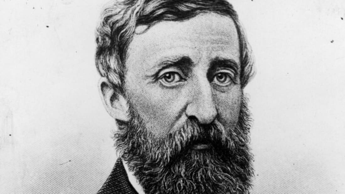 Henry David Thoreau Yoga Master Mental Floss