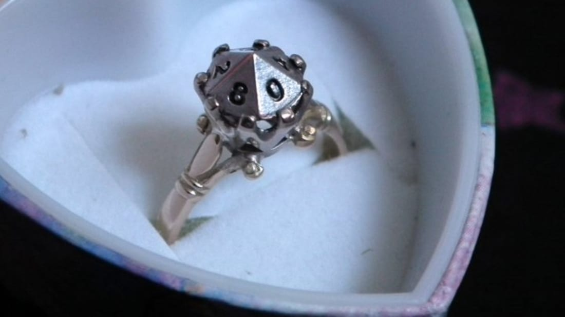 Nerdy Wedding Rings.11 More Geeky Engagement And Wedding Rings Mental Floss