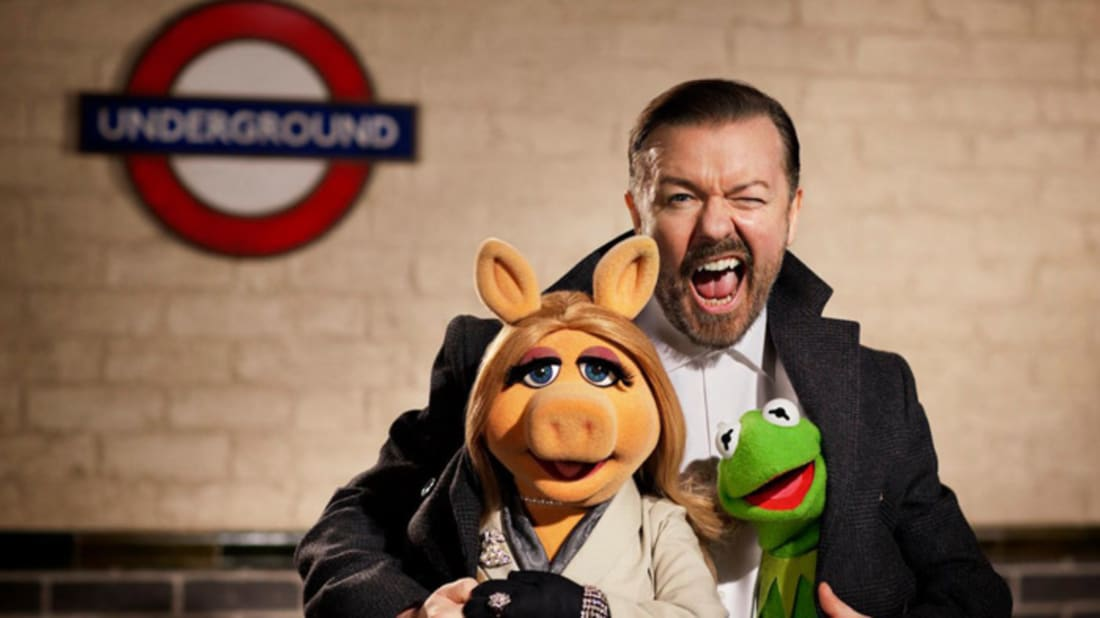 Ricky Gervais/Twitter