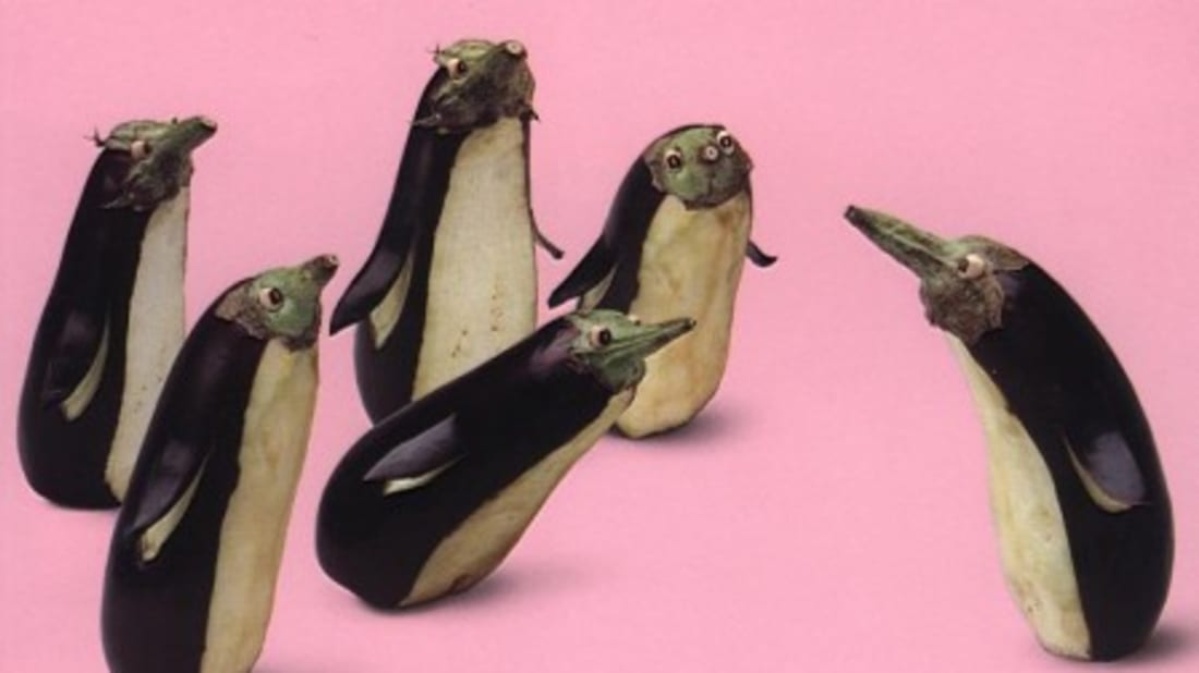 No Photoshop Necessary: Vegetarian Art | Mental Floss