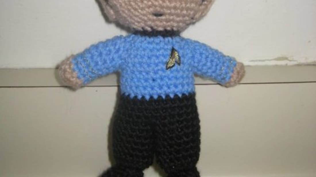 10 Crocheted Science Fiction Figures Mental Floss