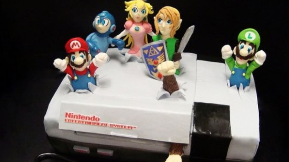 Wondrous 19 Amazing Video Game Cakes Mental Floss Funny Birthday Cards Online Inifofree Goldxyz