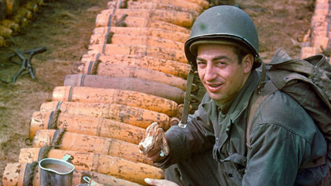 Color Photos: Before & After D-Day | Mental Floss