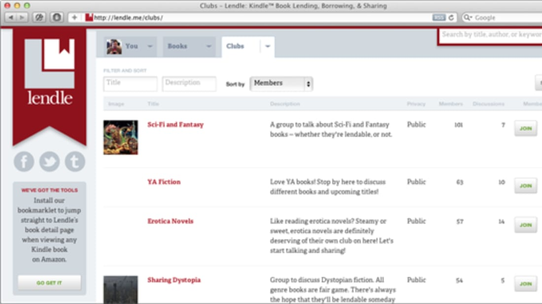 Lendle A Book Sharing Site For Kindle Users Mental Floss
