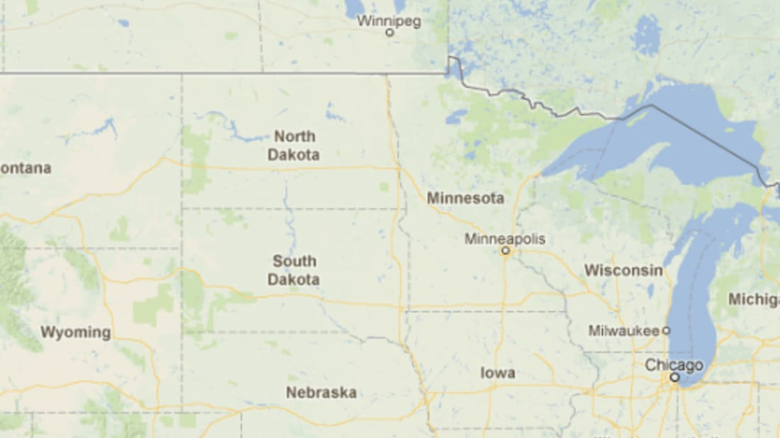 Map Of Minnesota, And Canada Border Over the Borderline: The Little Bit of Minnesota That Could Have