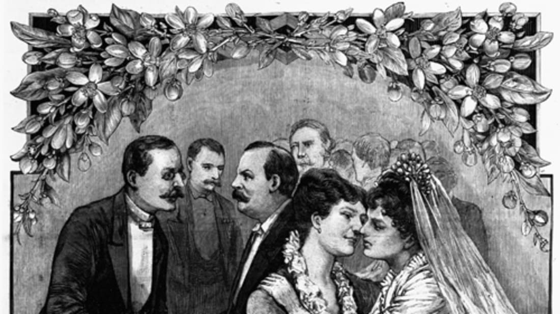 On This Date In 1886 Grover Cleveland Married 21 Year Old