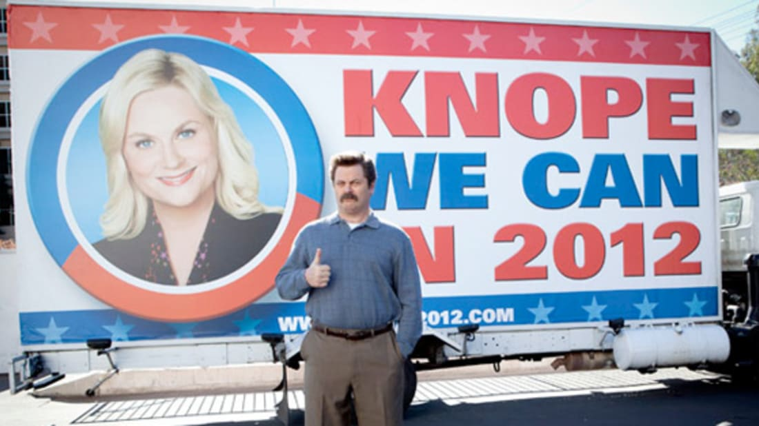 Knope-Newport and 6 Other Memorable TV Elections | Mental Floss
