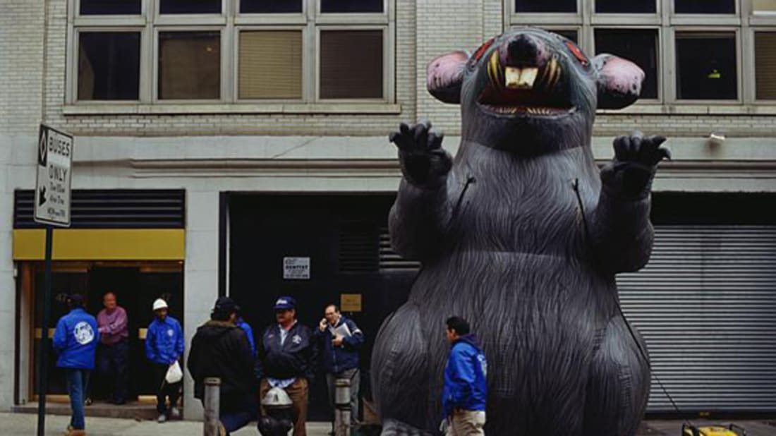 dad96065bb2 The Story Behind the Giant Inflatable Union Rat