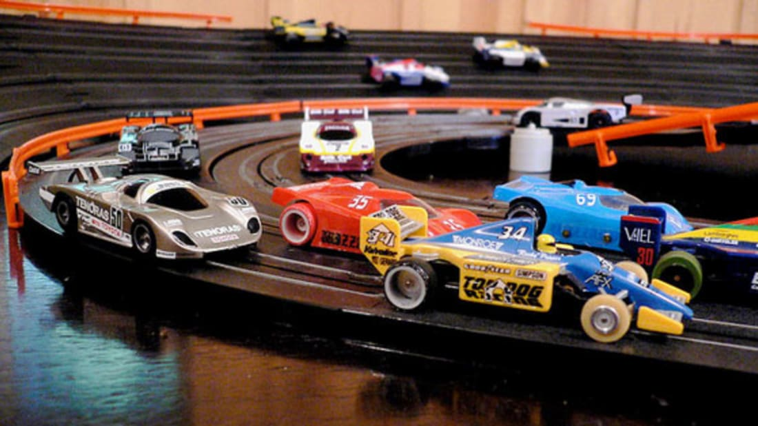 Little Engines That Could: A Brief History of Slot Cars