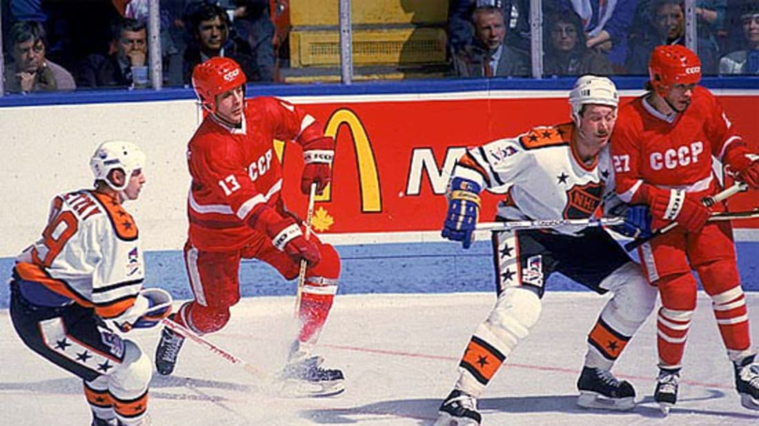 Rendez-Vous 87: The NHL All-Stars, the Soviet National Team
