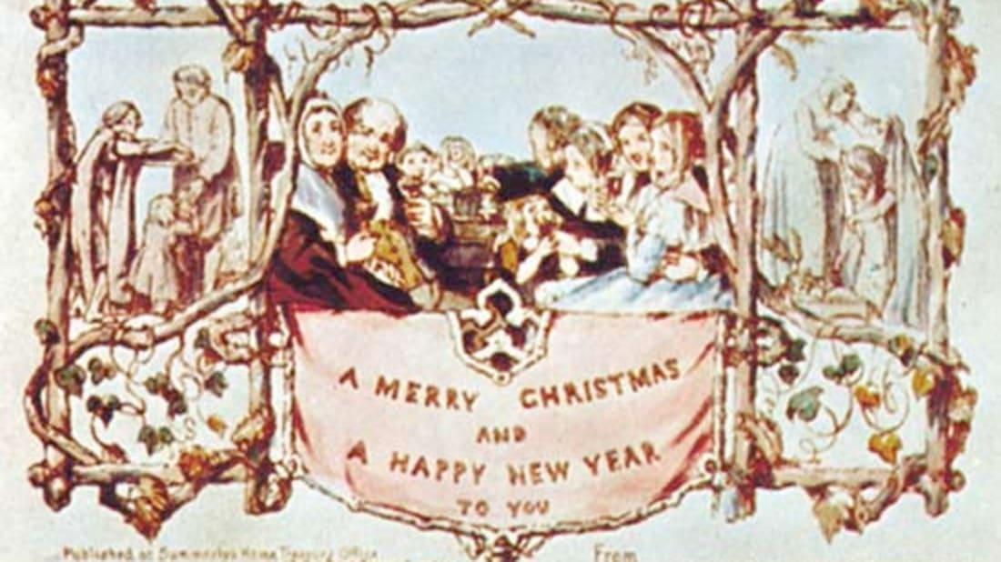 The First Christmas.The First Christmas Card Was Sent In 1843 Mental Floss