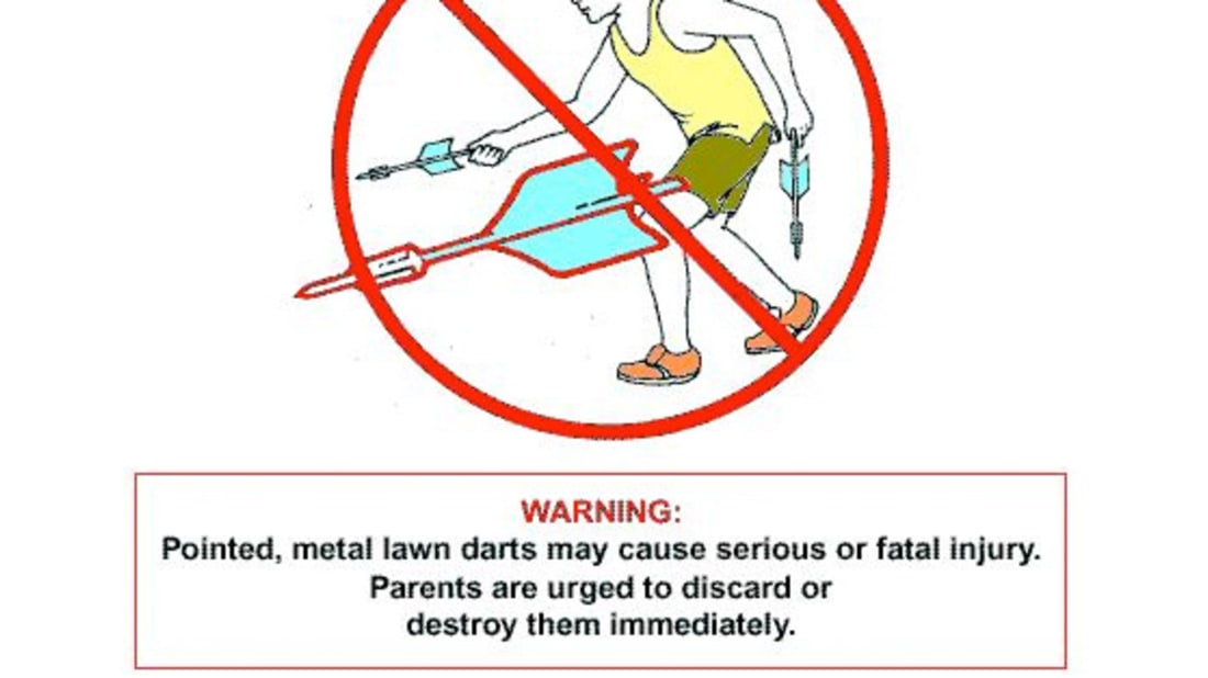 How One Grieving Father Got Lawn Darts Banned   Mental Floss