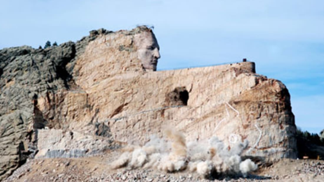 The Unfinished Tribute to Crazy Horse | Mental Floss
