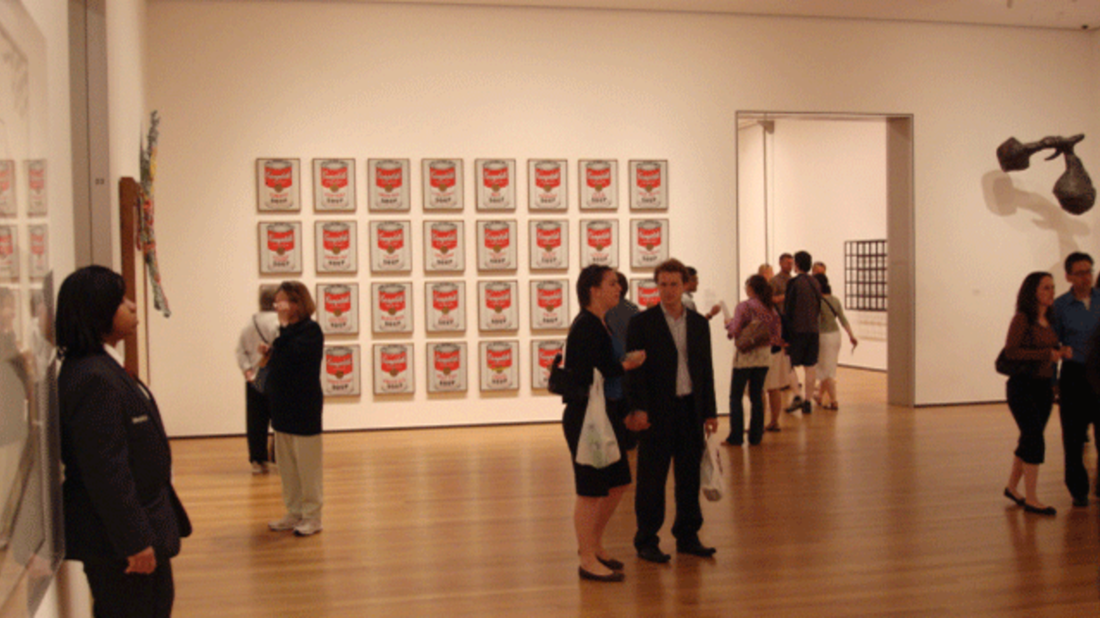 Campbell's Soup Cans at the MoMA // Wikimedia Commons // CC BY-SA 2.0
