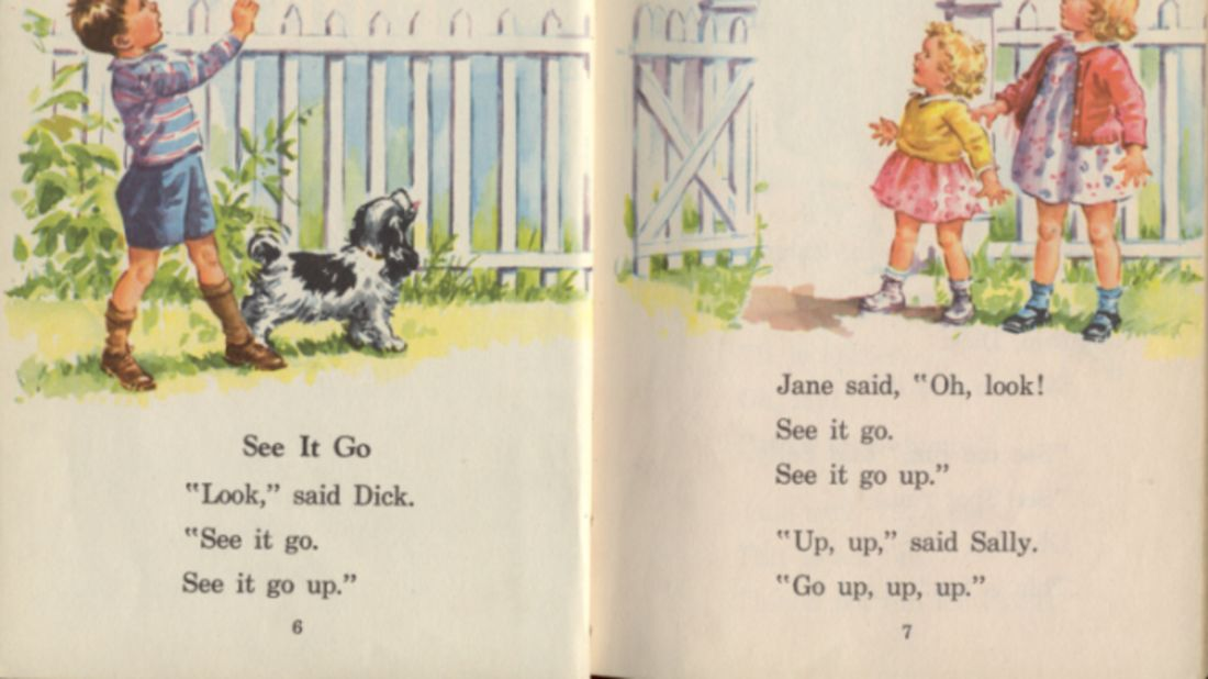 The history of dick and jane