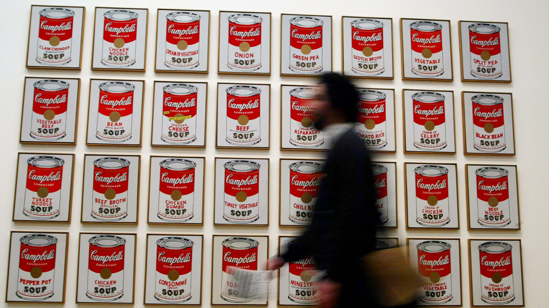 16 Things You Might Not Know About Andy Warhol S Campbell S Soup Cans Mental Floss
