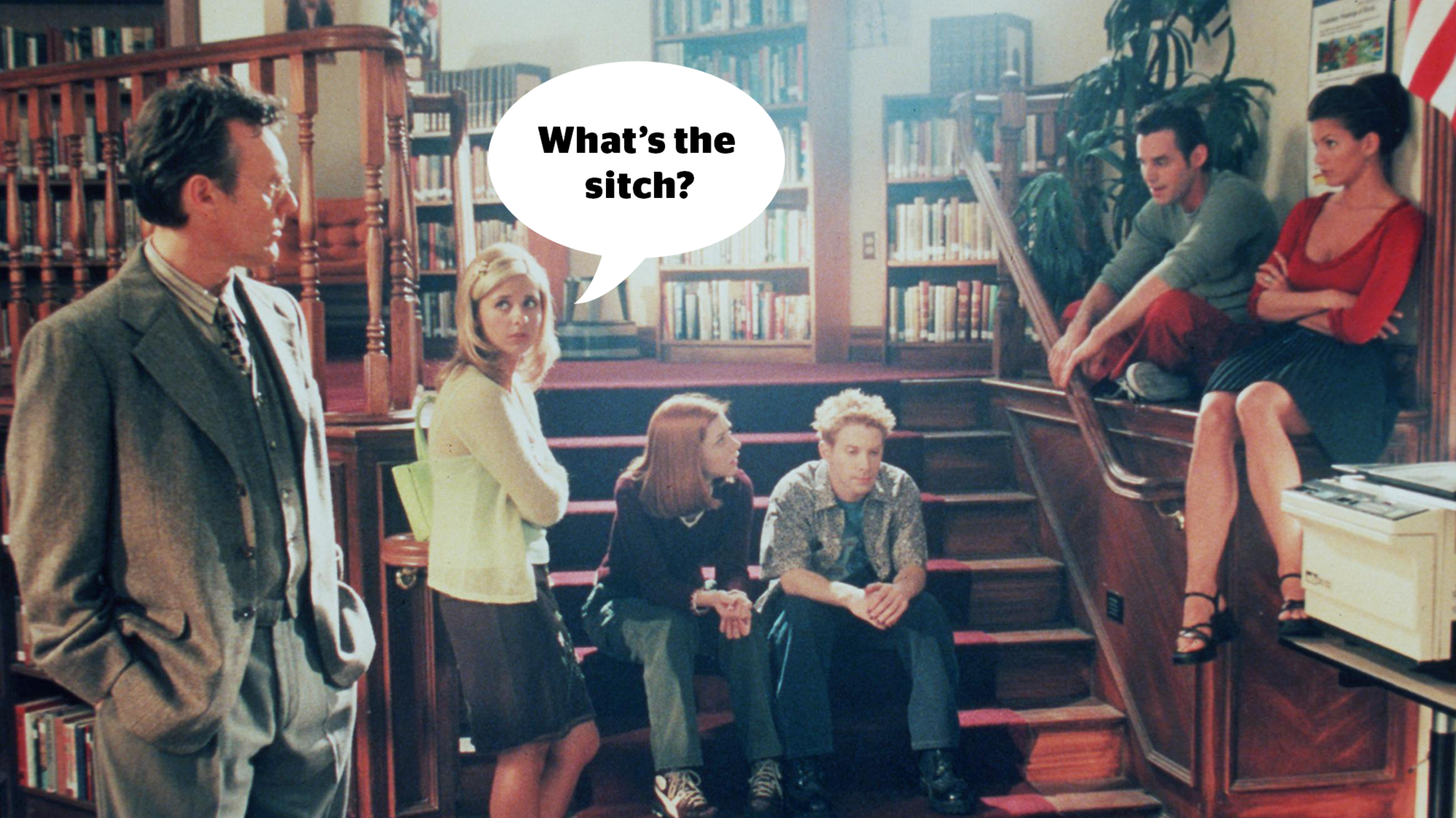10 Pointy Pieces of Slayer Slang from 'Buffy the Vampire Slayer'