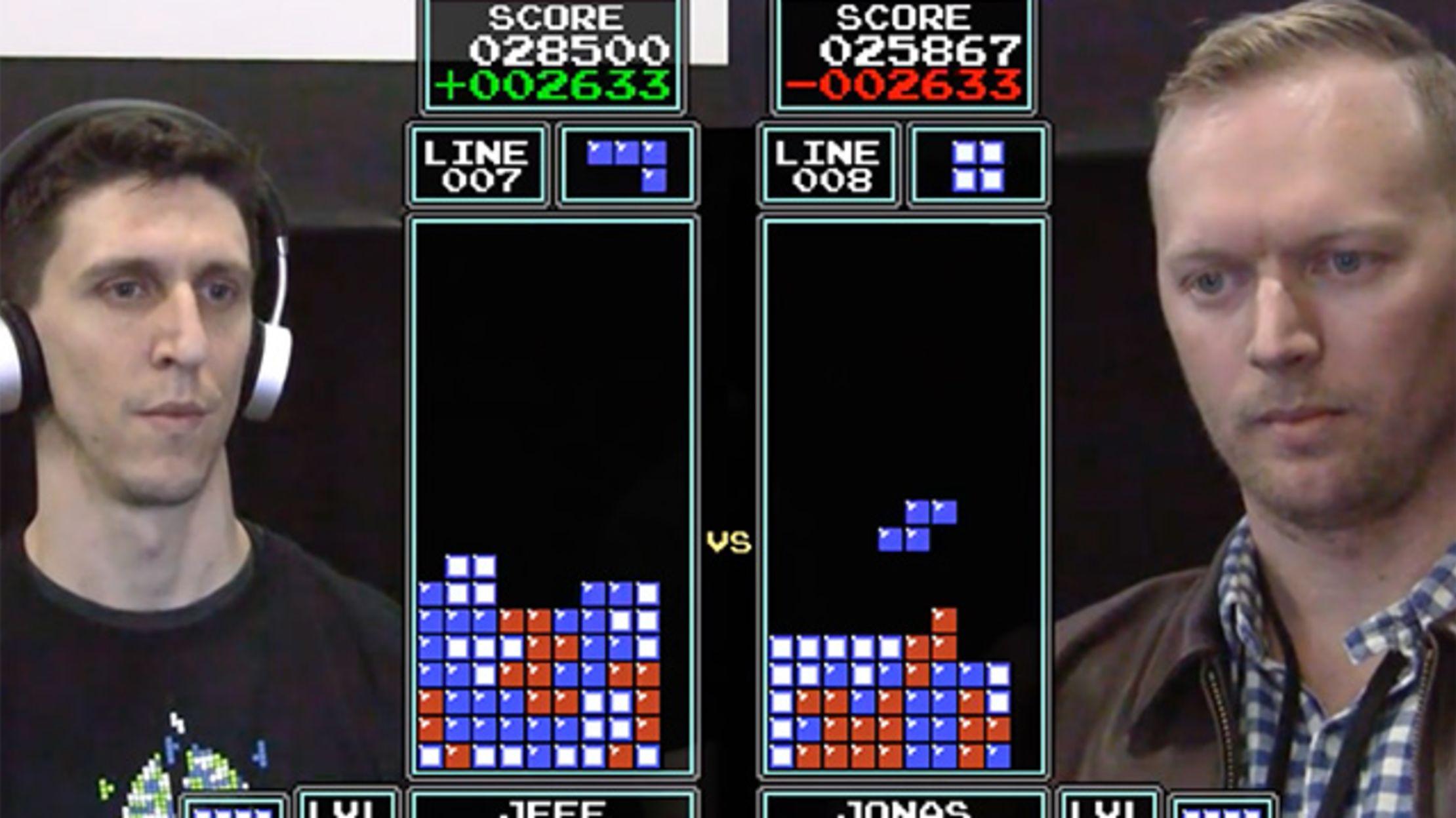 The Final Match, 2016 Classic Tetris World Championship