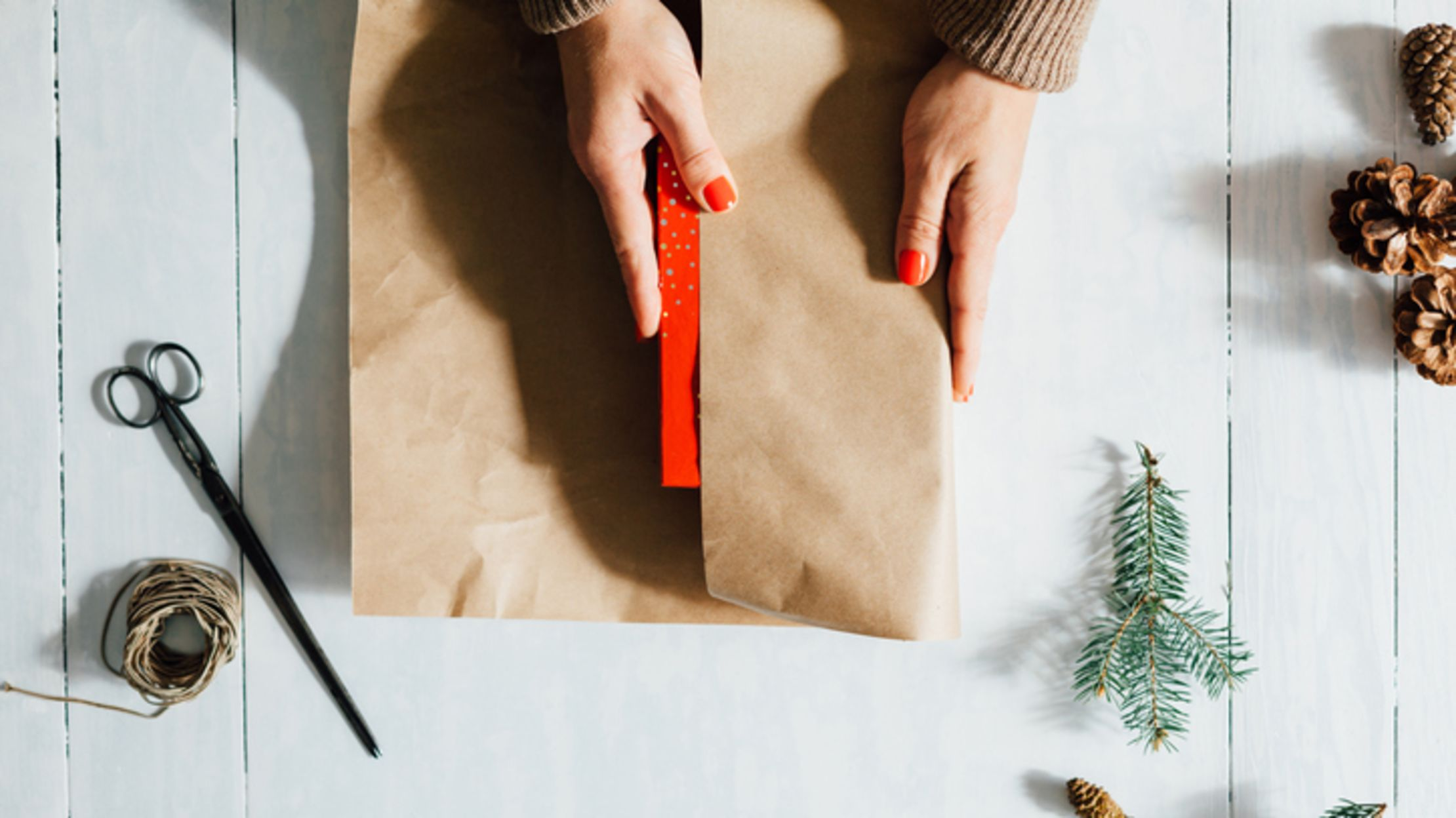 Wrap Presents in a Flash Using This Japanese Department Store Technique