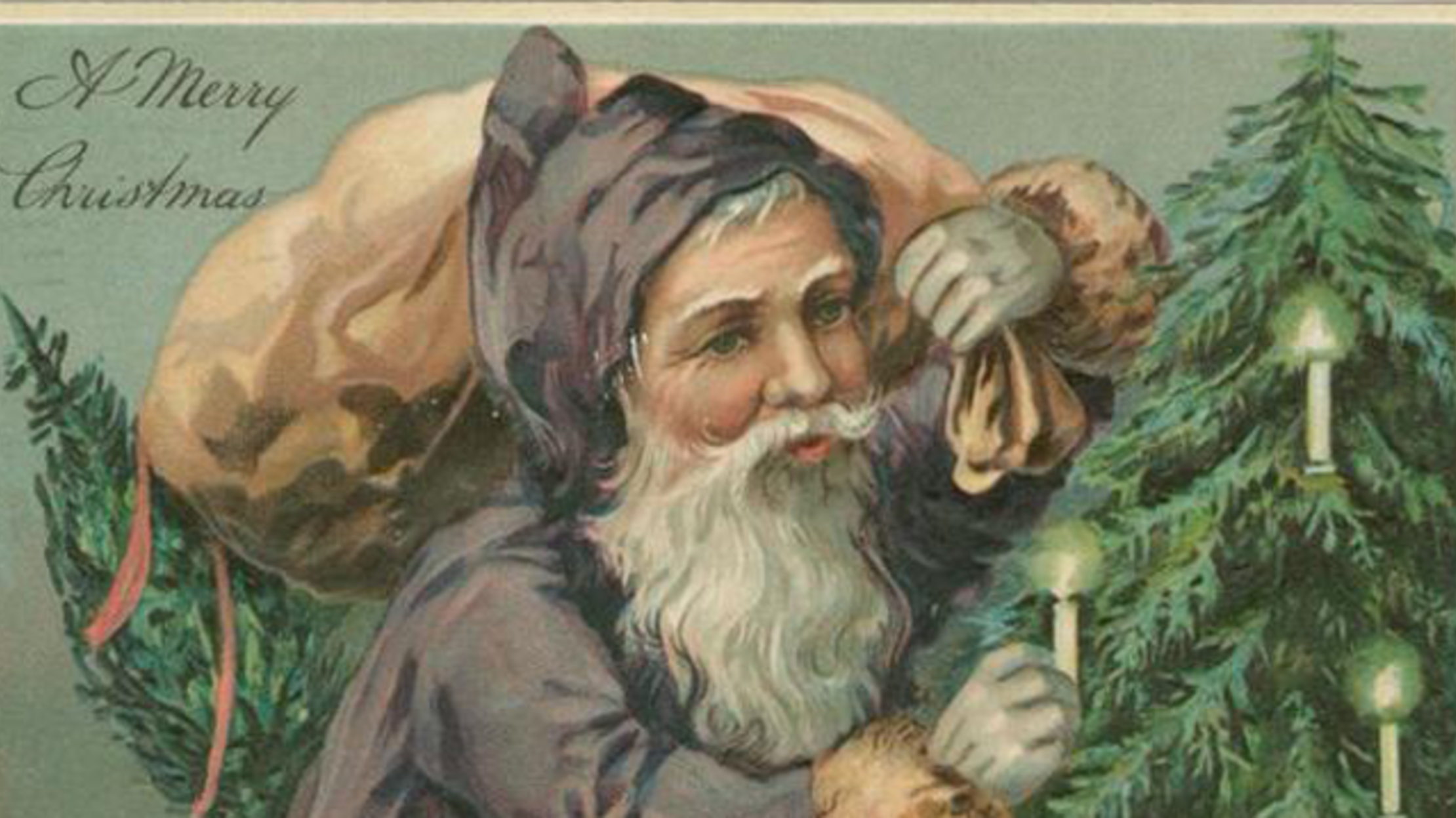50 Vintage Christmas Cards From the New York Public Library