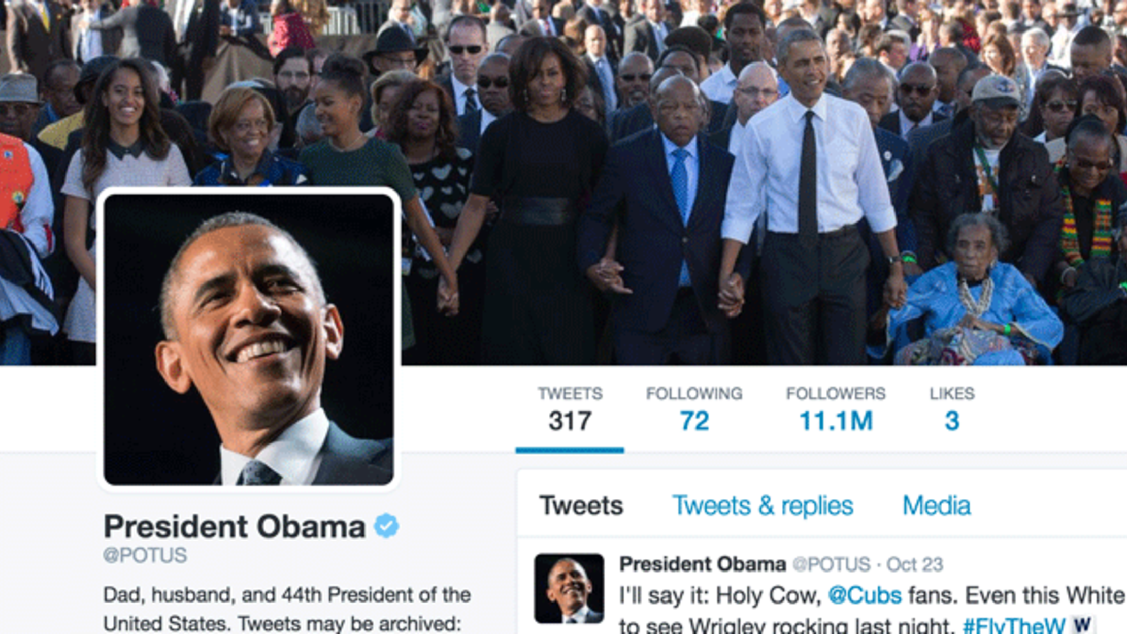 What Happens to the President's Twitter Account When He Leaves Office?