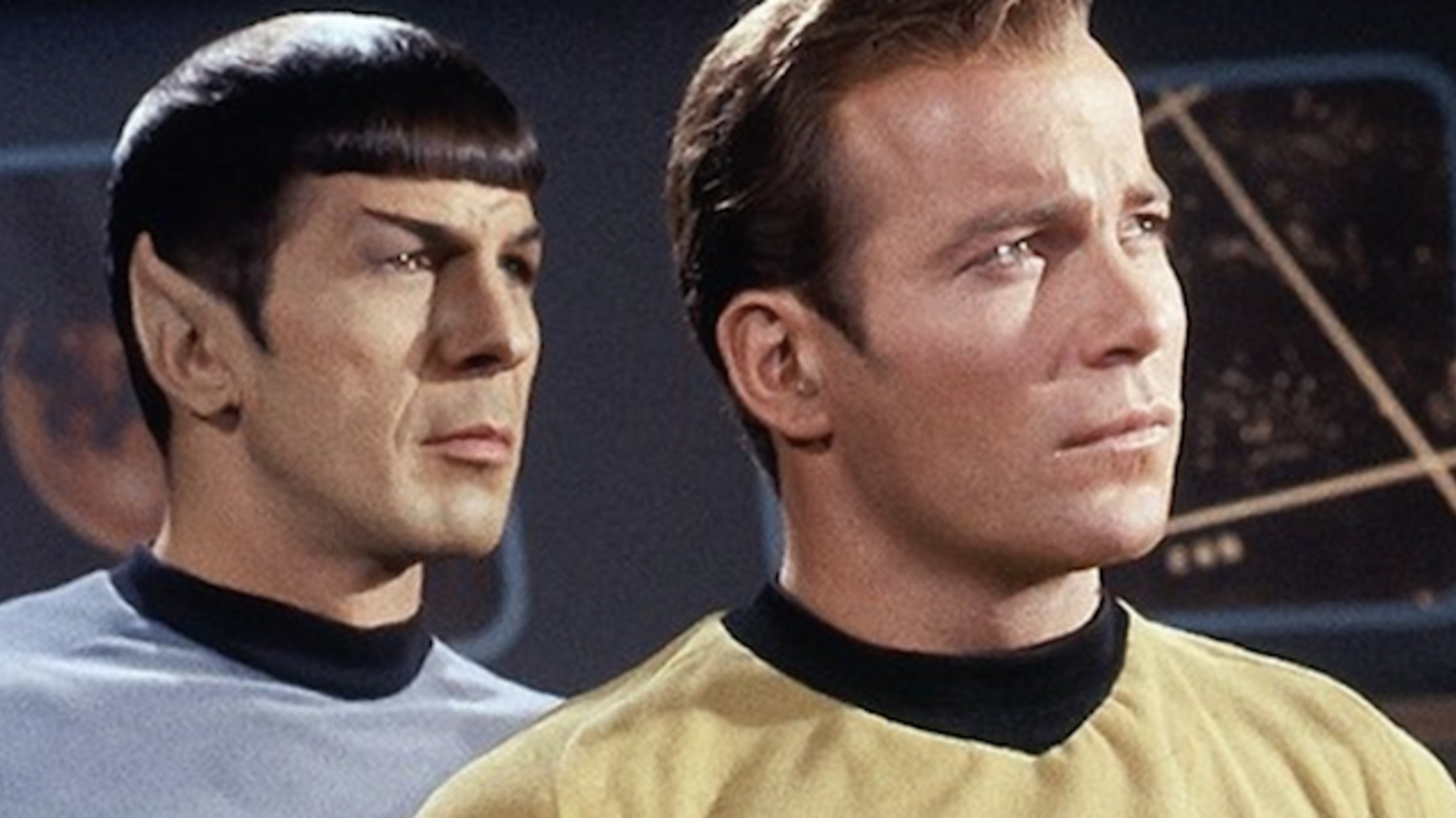 Star Trek TOS The Original Series Spock Blue Velour Shirt Uniform Costume Great