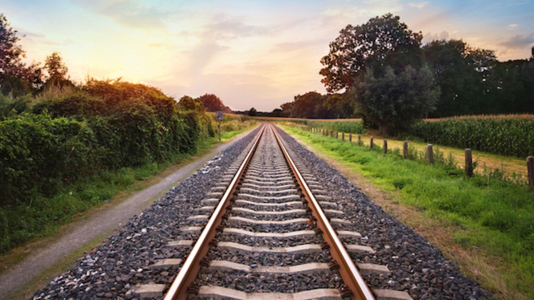 Railroad Tracks Picture | Free Photograph | Photos Public