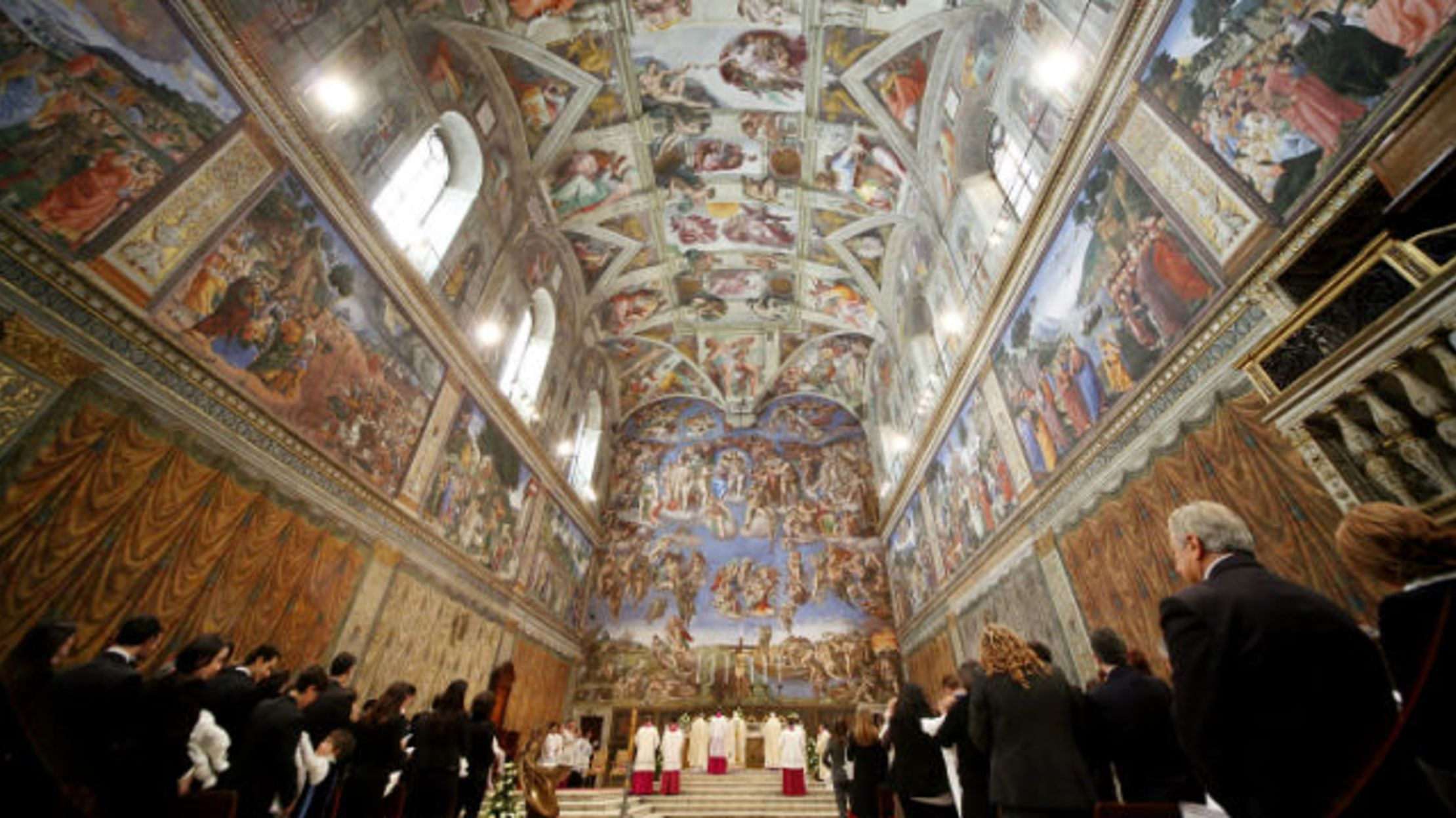 15 Lofty Facts About The Sistine Chapel Mental Floss