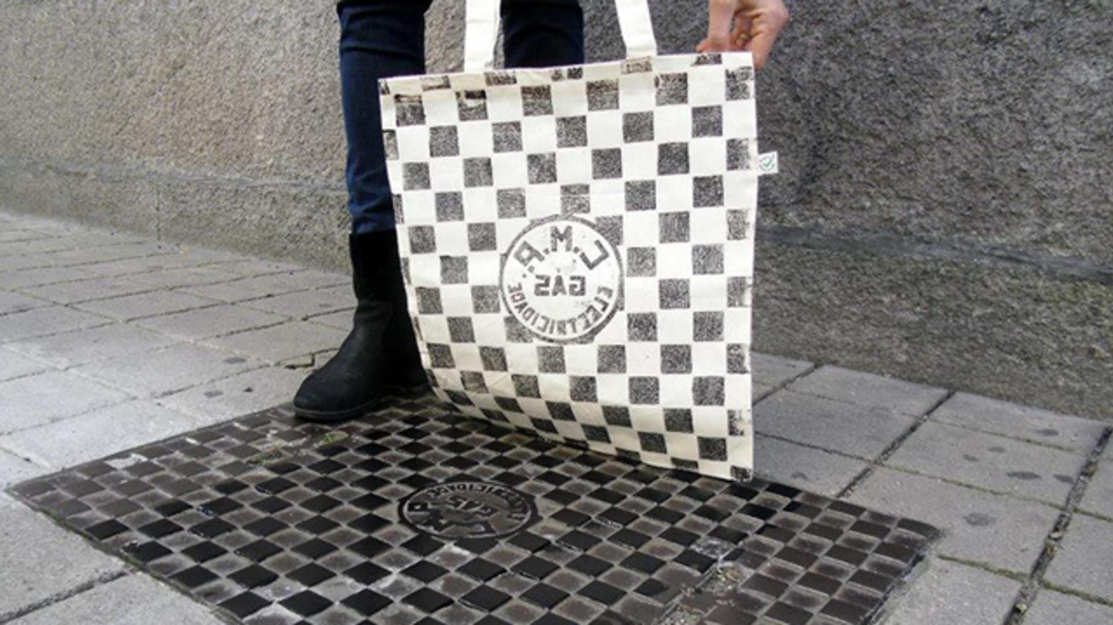 c782c638 Berlin Artists Create Graphic Designs From Public Street Fixtures ...