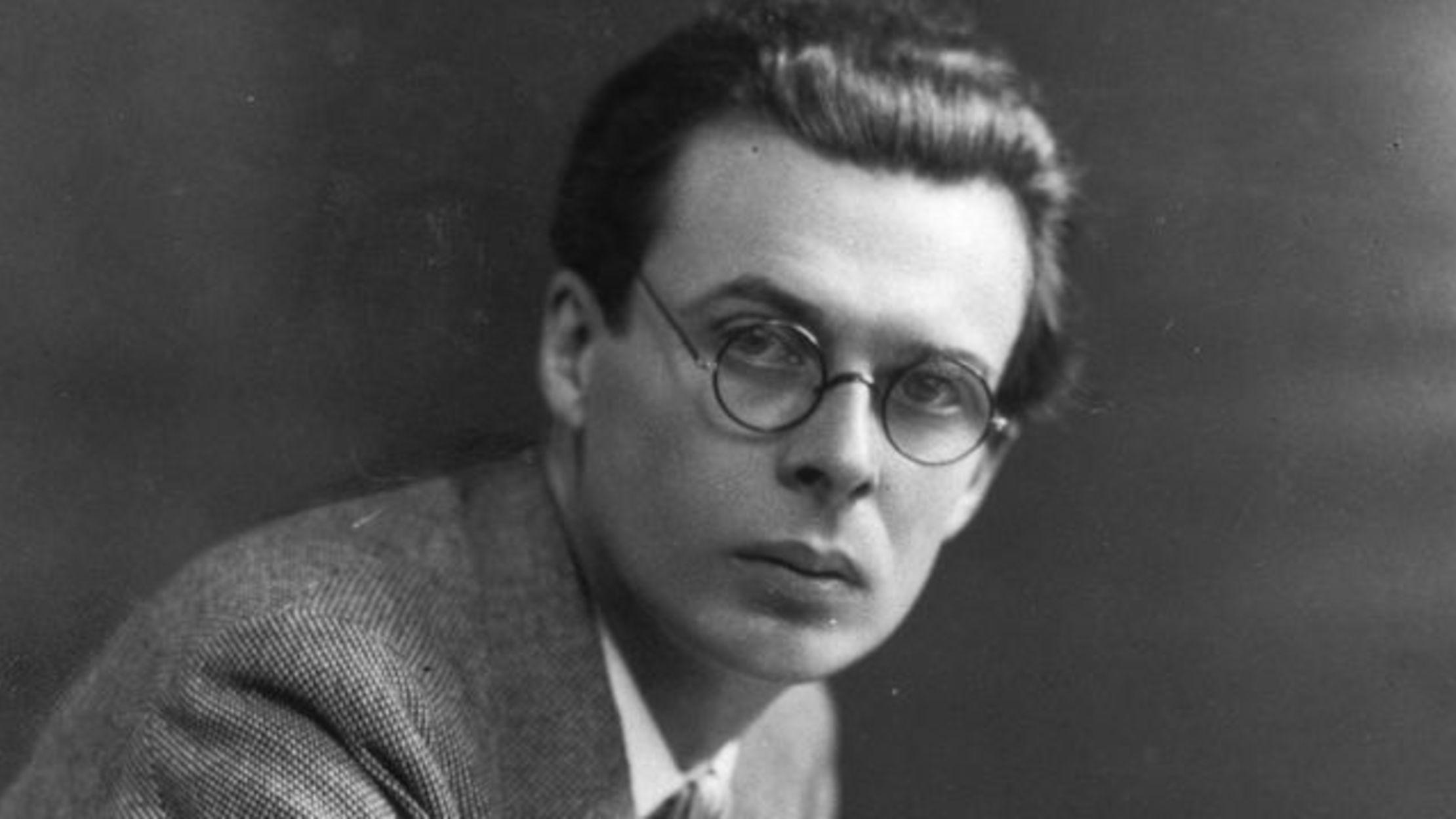 10 Dystopian Facts about Aldous Huxley | Mental Floss