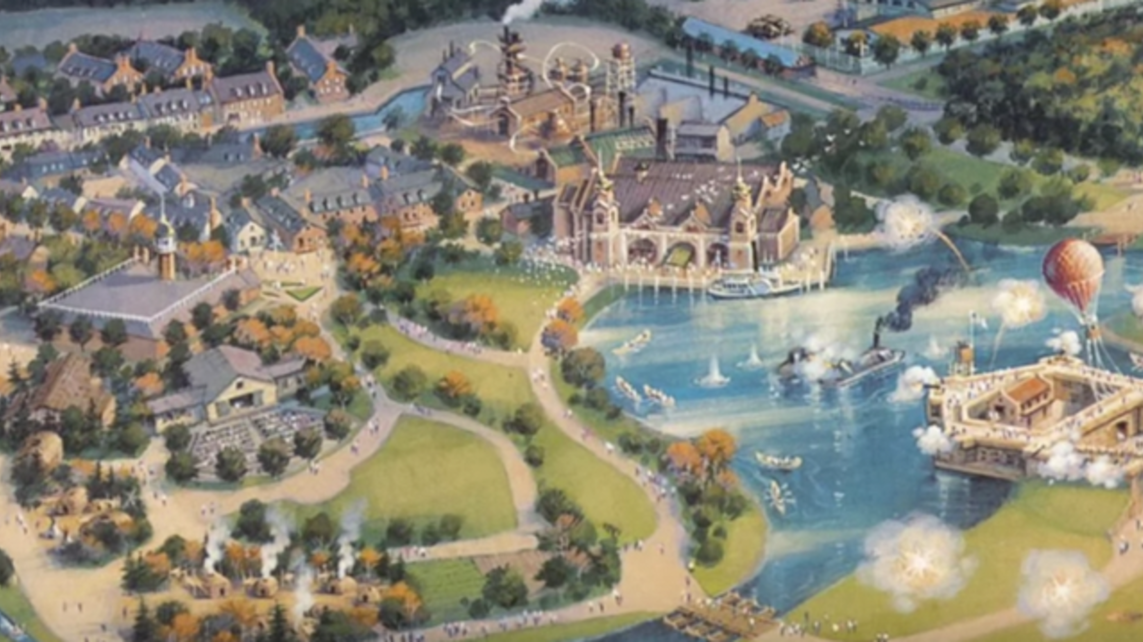 The Story of Disney's Abandoned America Theme Park