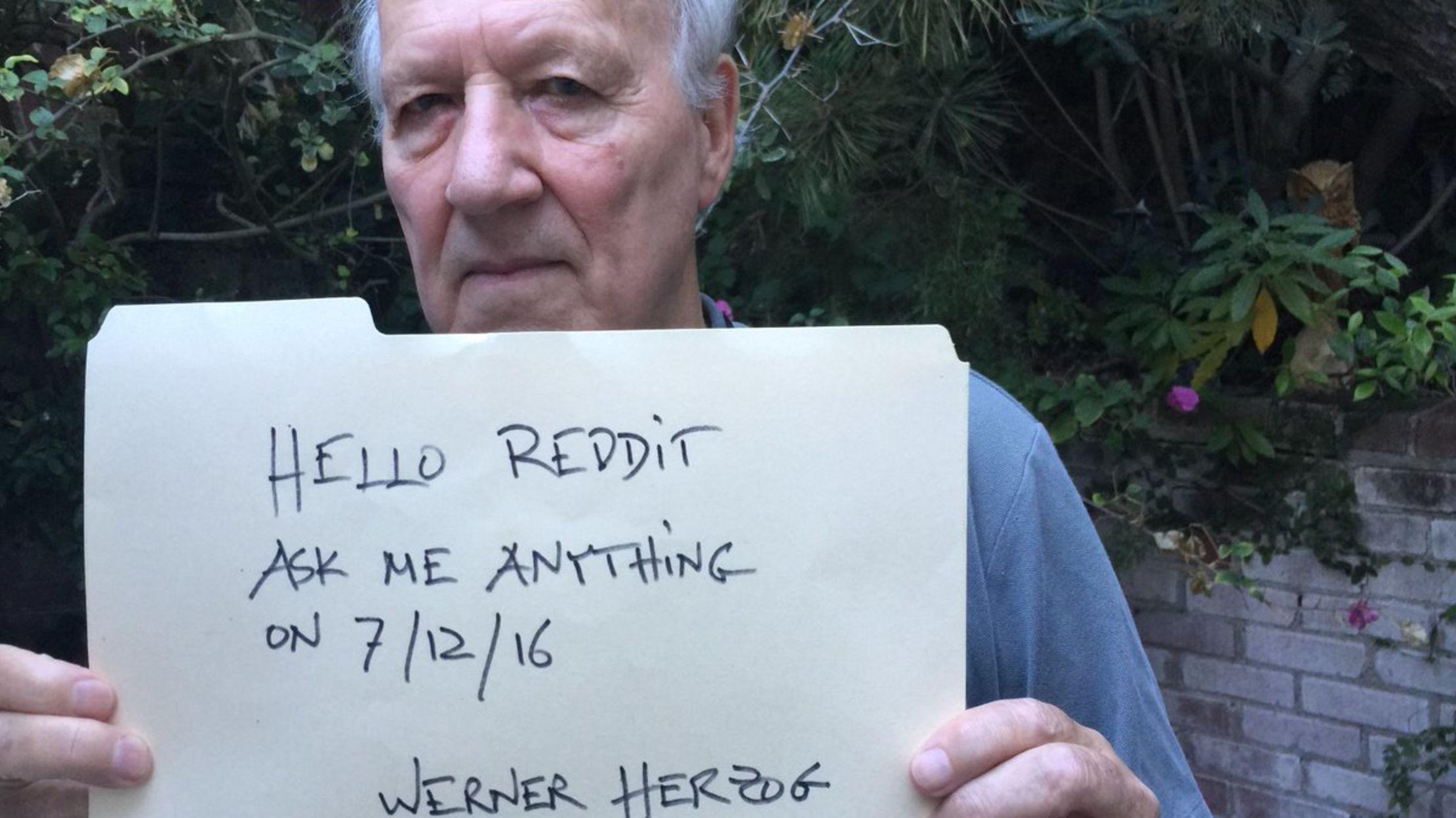 14 Things We Learned From Werner Herzog S Reddit Ama Mental Floss