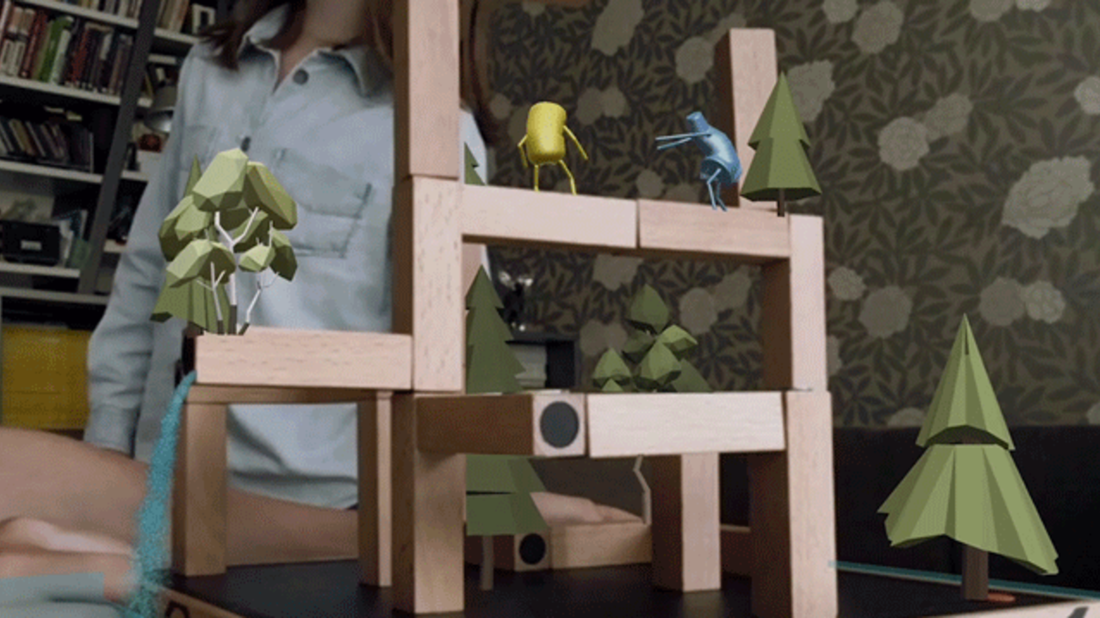 Augmented Reality Game Lets Kids Build Virtual Worlds