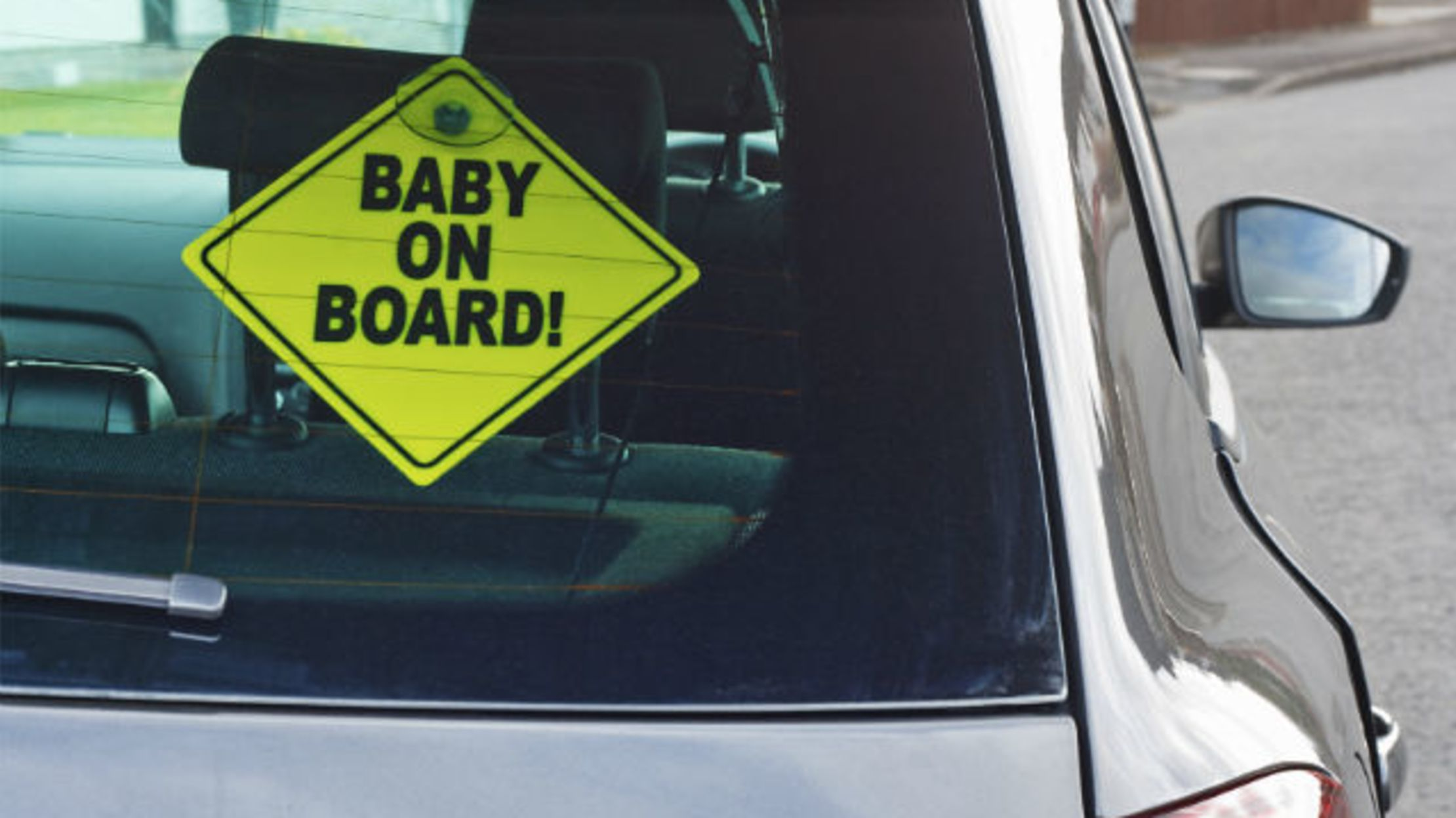 Baby Responsible Baby On Board Safety Decals Sticker Cars Window