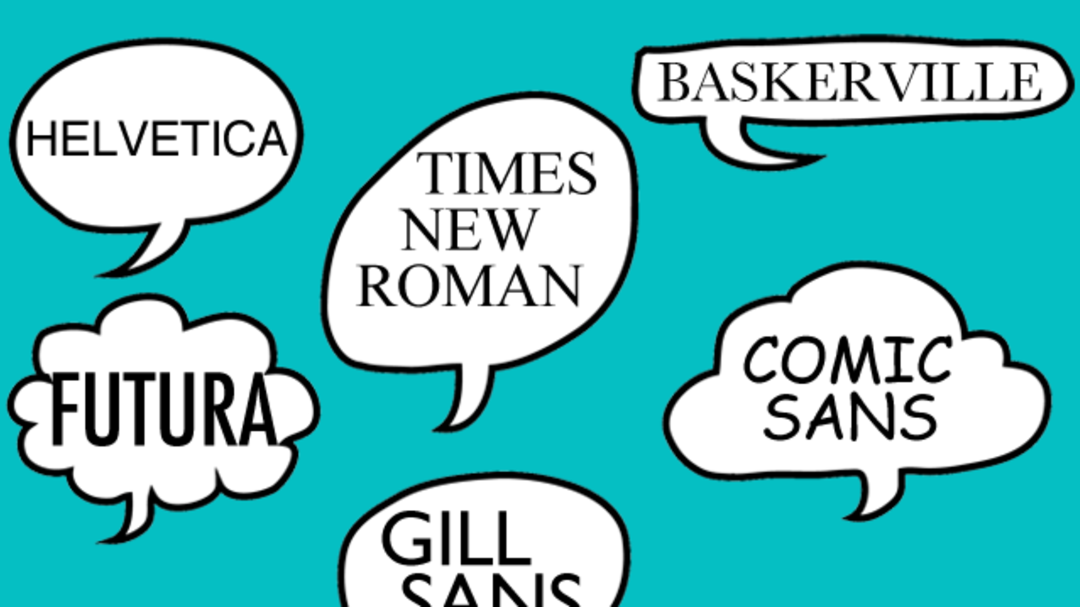 The Stories Behind 10 Famous Typefaces and Where They're
