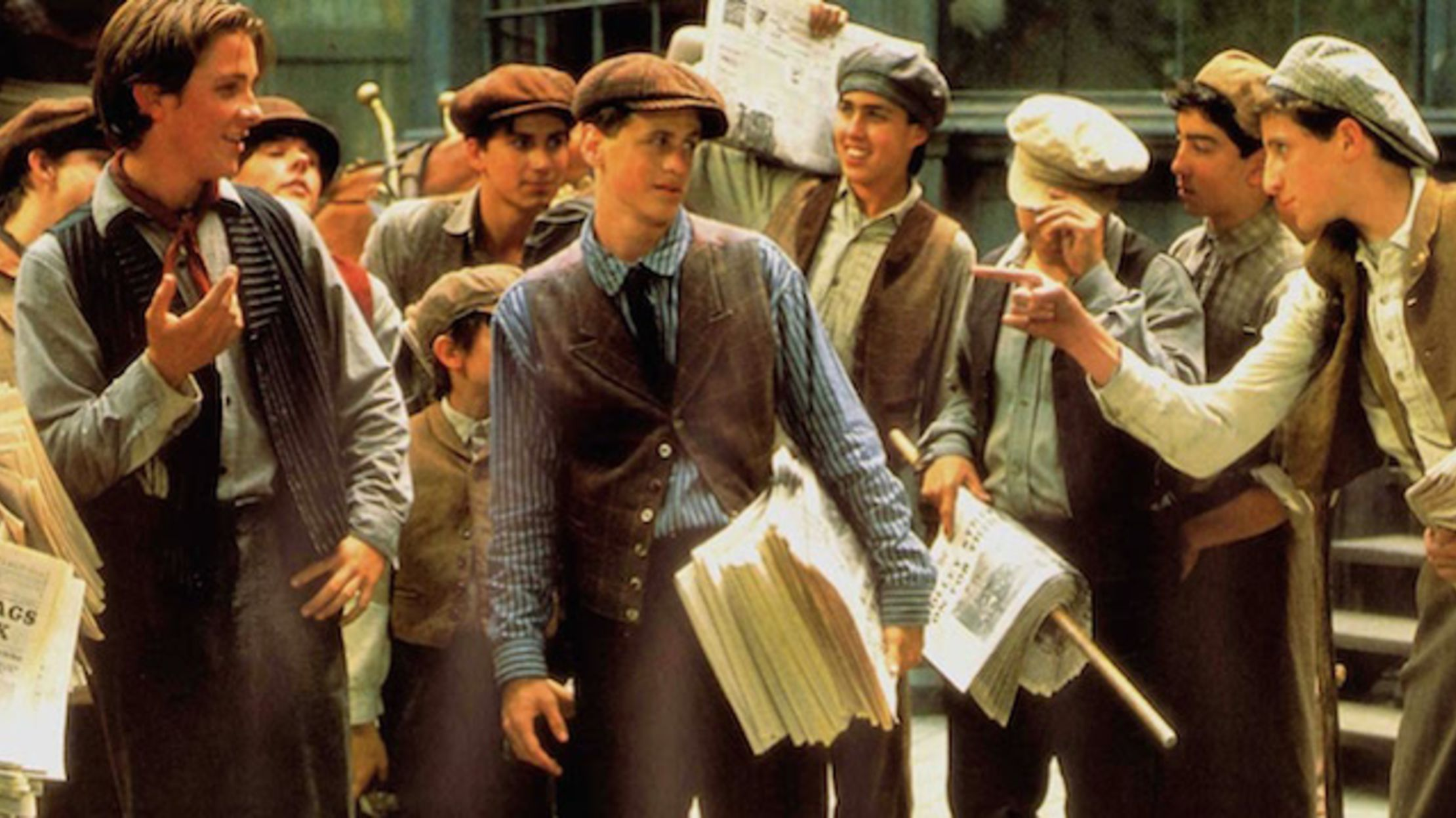 15 Hot-Off-the-Press Facts About 'Newsies' | Mental Floss