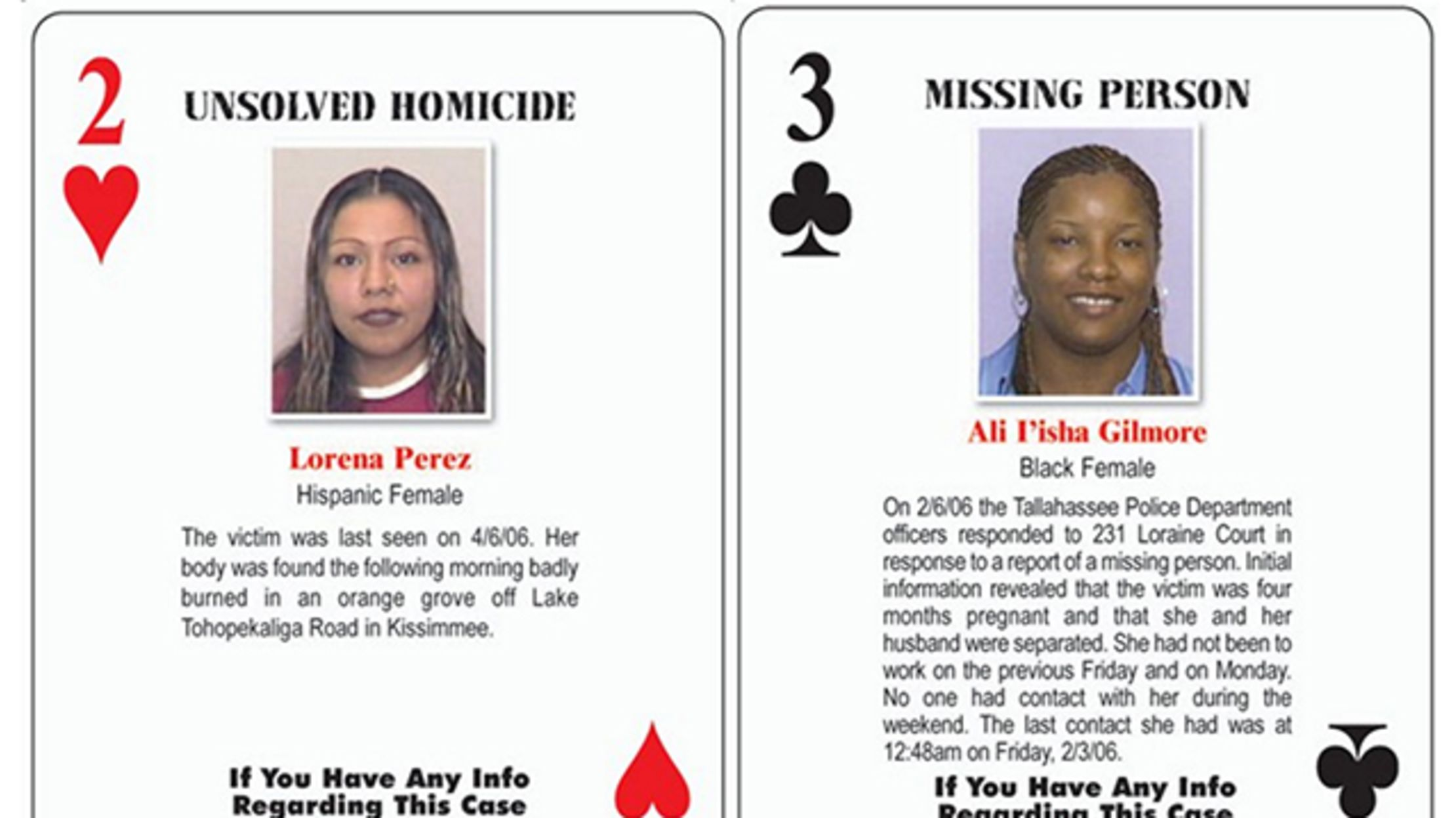 The Playing Cards That Help Solve Cold-Case Crimes | Mental