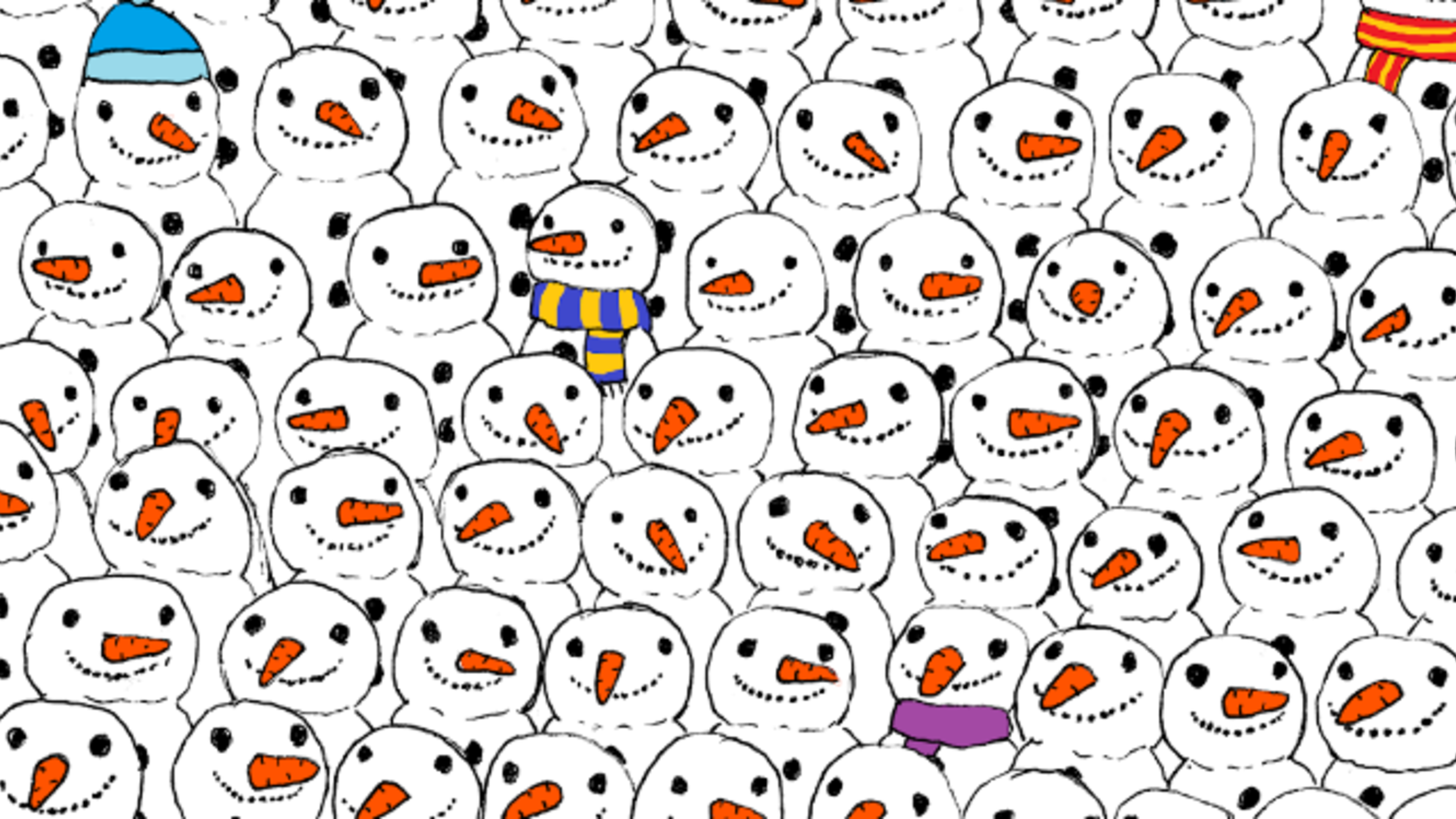To Spot the Panda, Override Your Lazy Brain