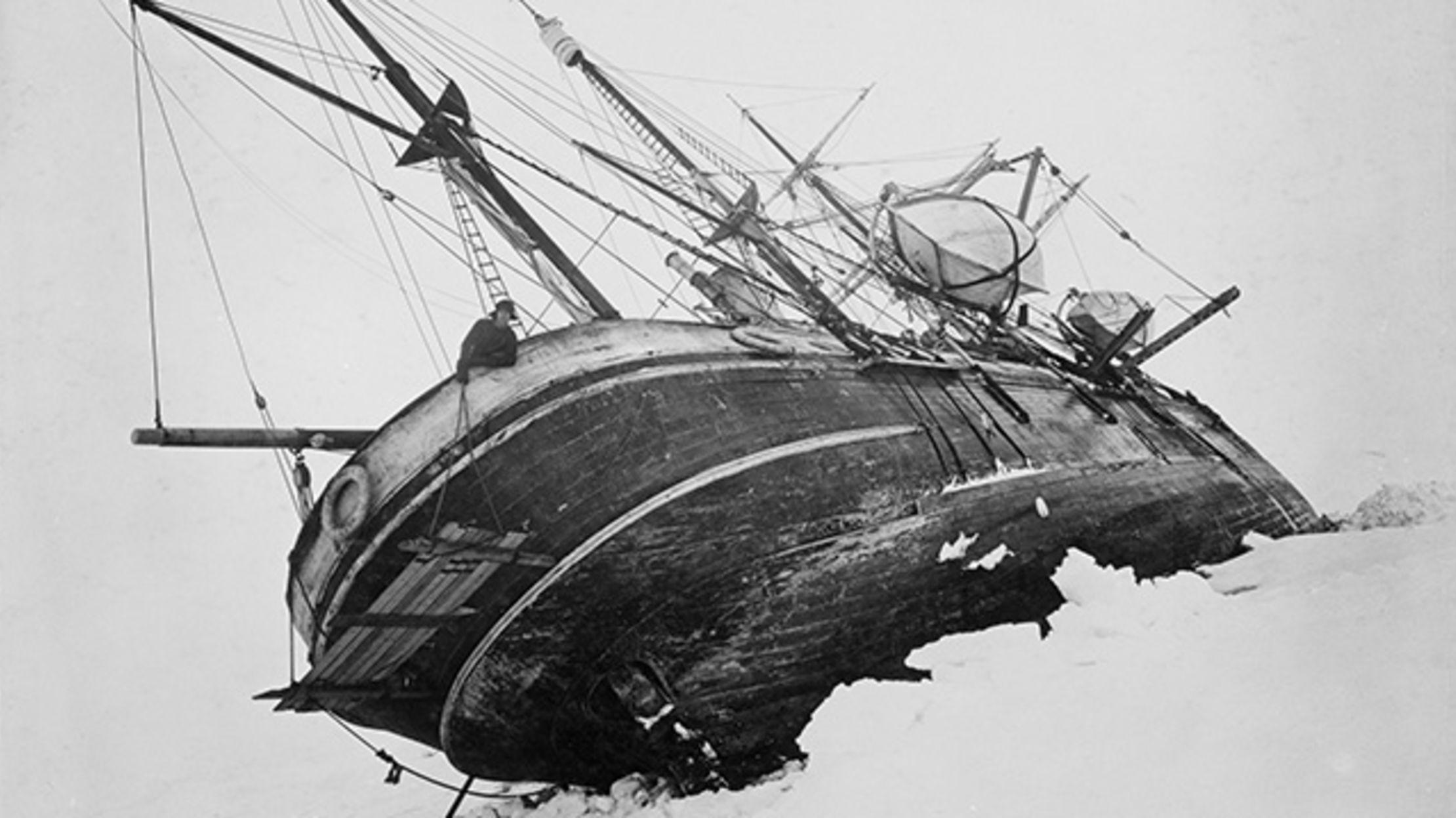 shackletons lost ship endurance - HD1200×800