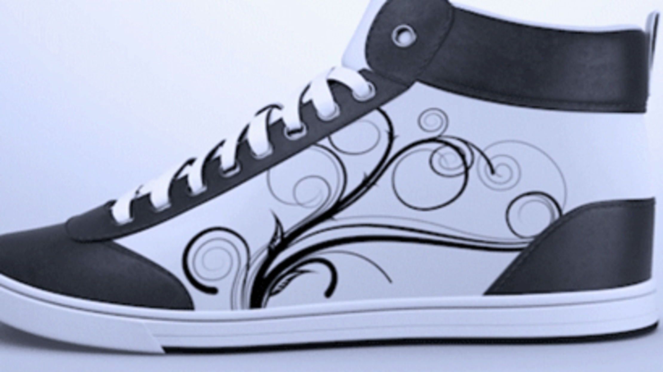 This Digital Sneaker Concept Lets You Upload Designs From