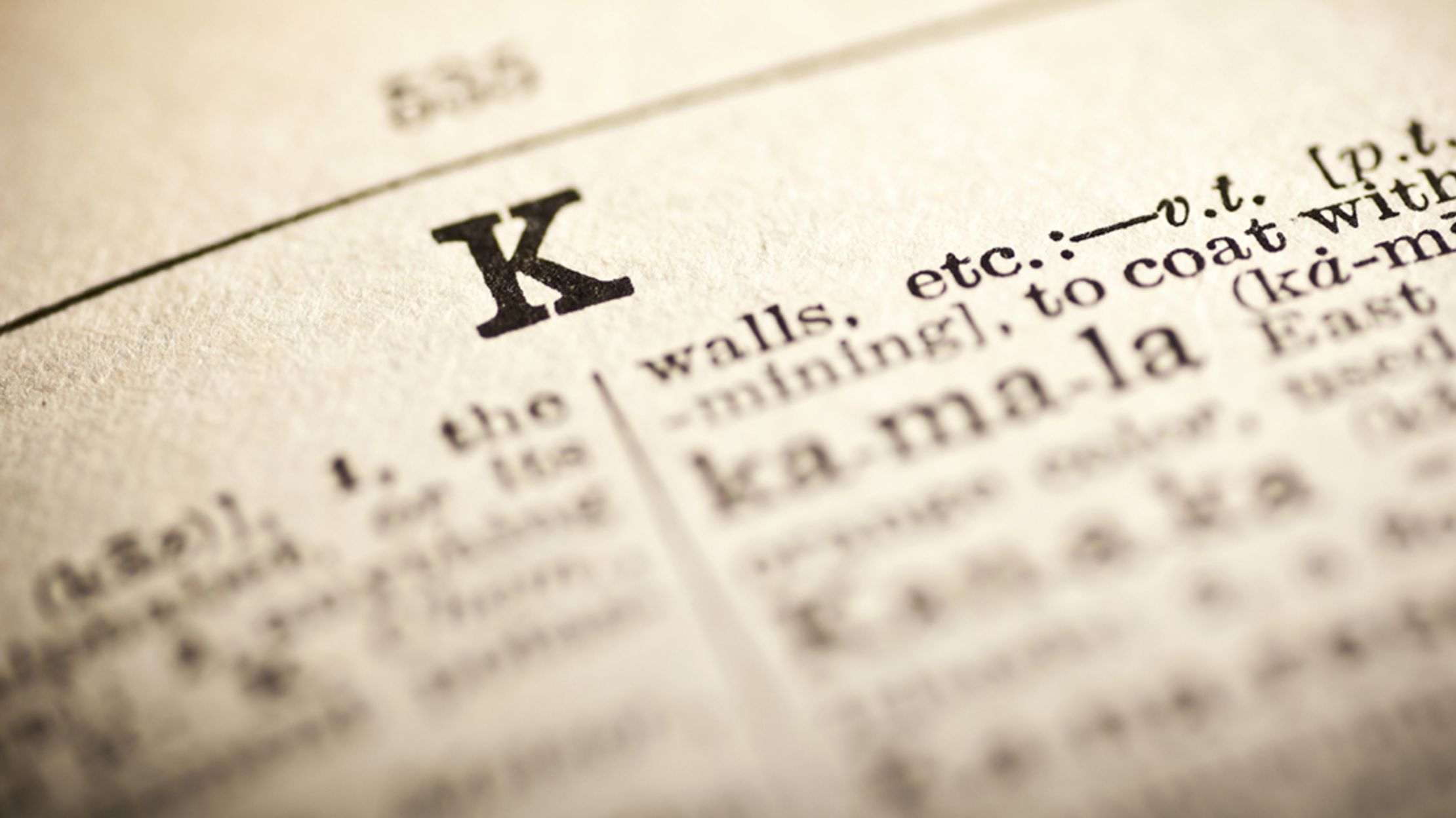 40 Killer K-Words To Add To Your Vocabulary   Mental Floss