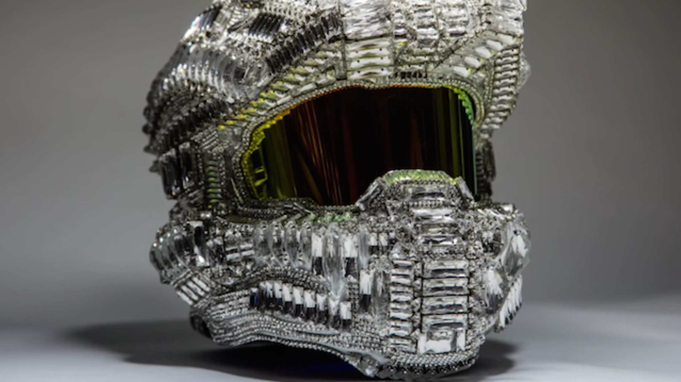 This Custom Halo Master Chief Helmet Raised 34 000 For